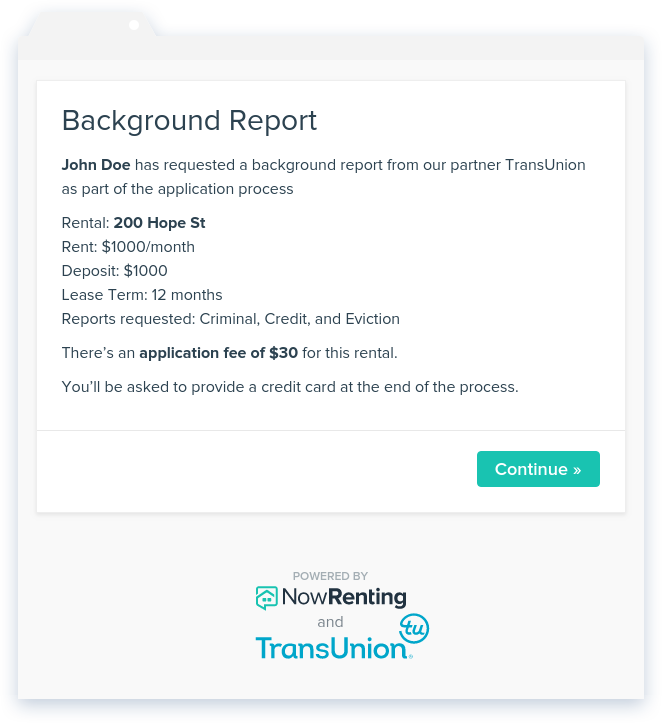 Free Tenant Background Check - Get Full Report