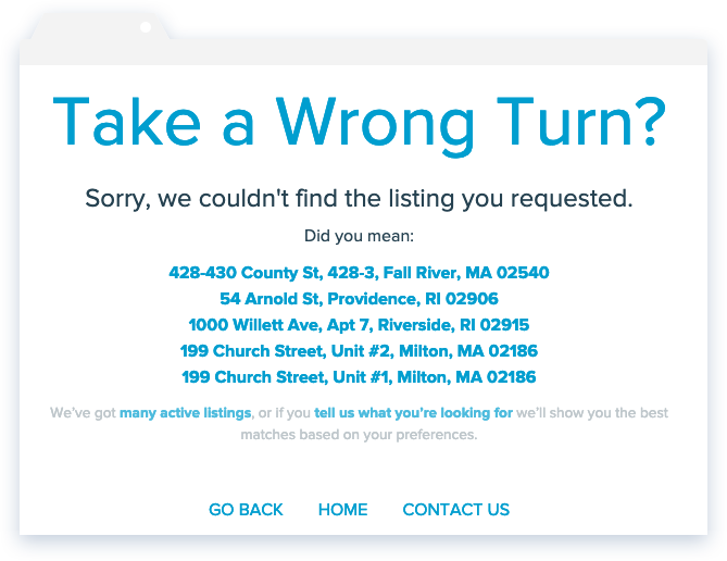 NowRenting: Take a Wrong Turn